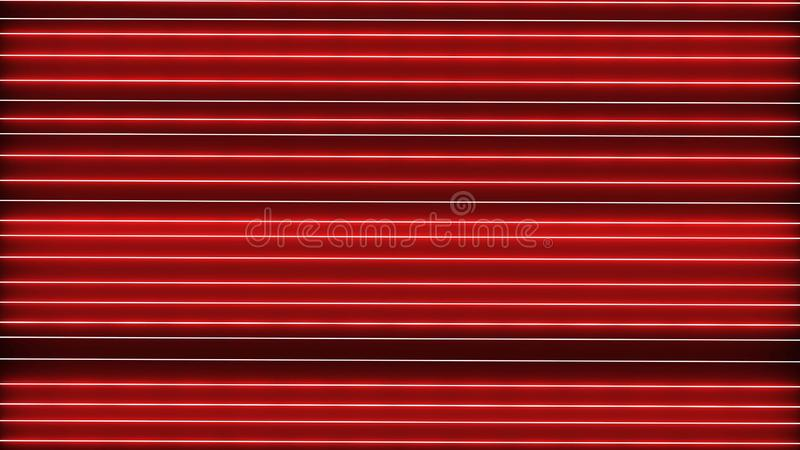 Abstract creative neon laser led lines. Retro disco, club neon sound wave show background. Colorful shiny ultraviolet borders stock image
