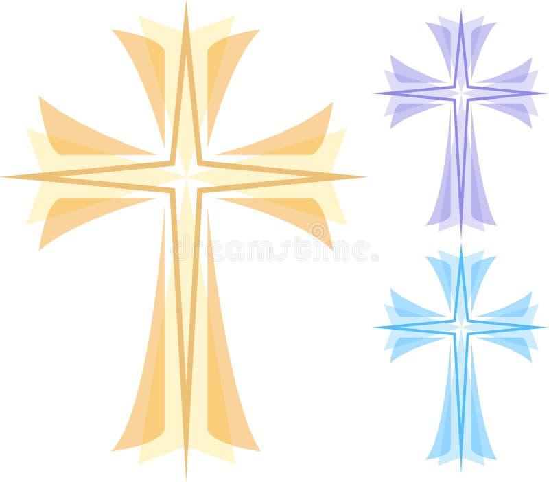 Abstract Cross/eps stock illustration