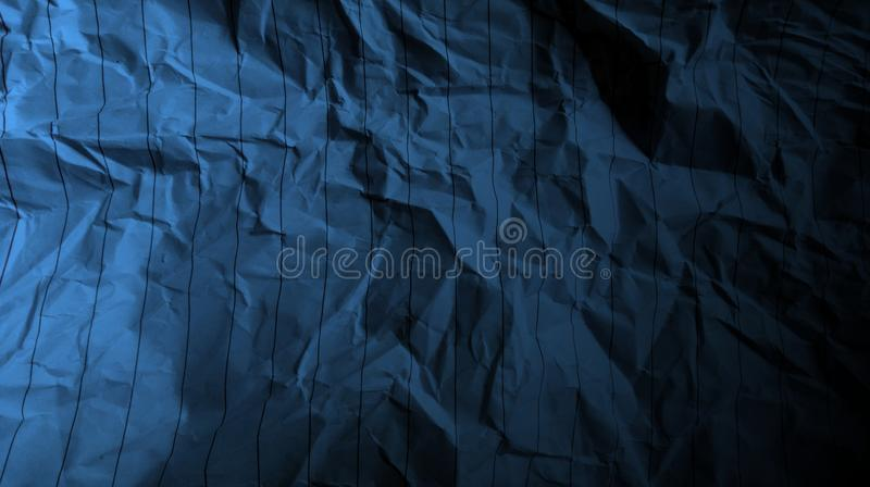Abstract crumpled paper black pastel blue color mixture multi colors effects Background. royalty free stock image