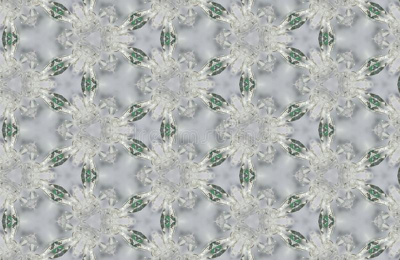 Abstract crystals patterns background royalty free stock images