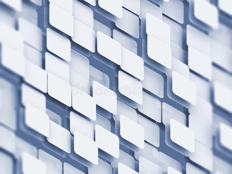 Abstract cube background royalty free illustration