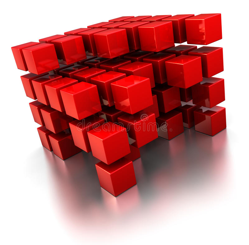 Download Abstract Cube Structure Stock Photography - Image: 15751722