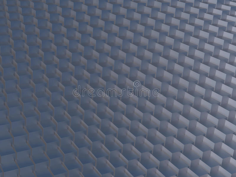 Abstract cubes background stock illustration
