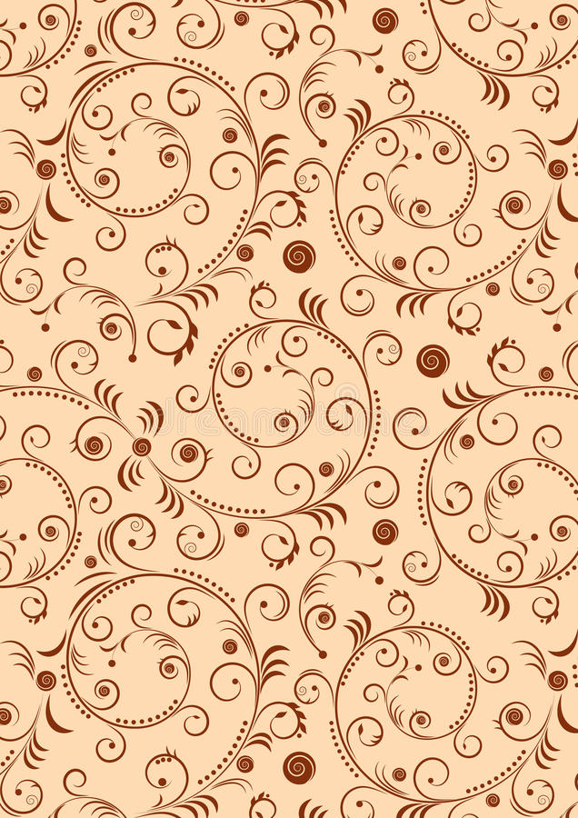 Free Abstract Curles Background Royalty Free Stock Photo - 21810975