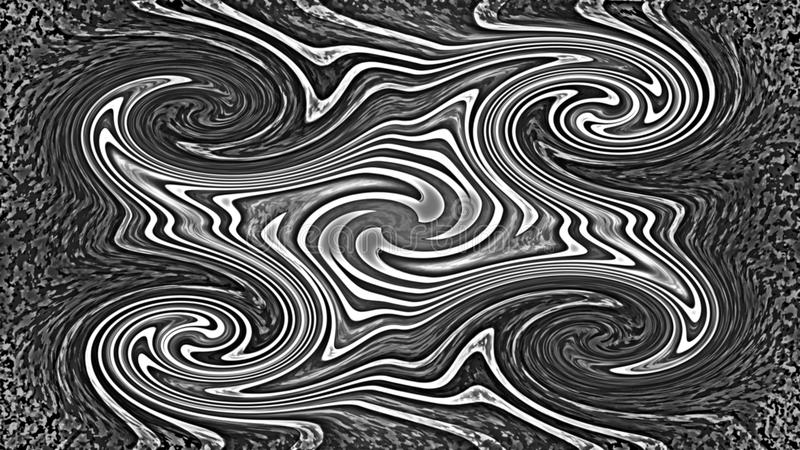 Abstract curly background vector illustration