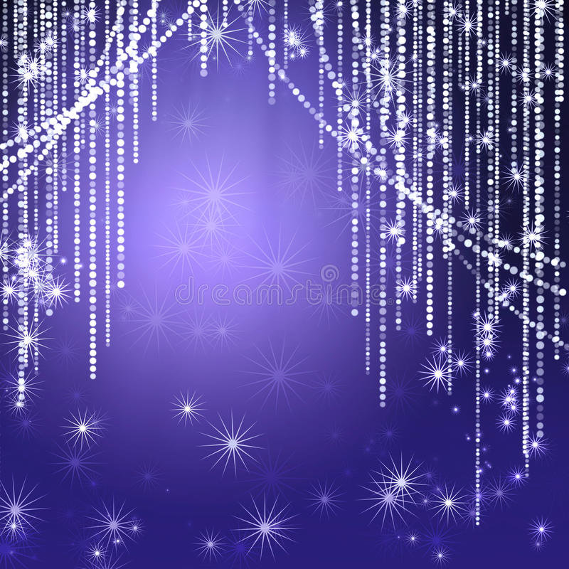 Download Abstract Curtains Of Holiday Garland Stock Illustration - Image: 15582419