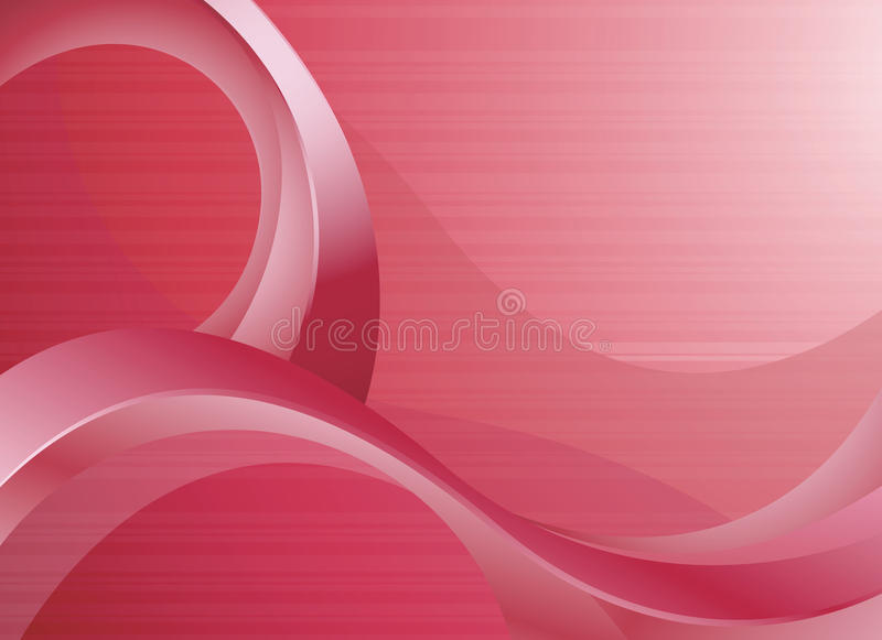 Abstract Curve Background. Illustration of Abstract Curve Background in Cherry vector illustration