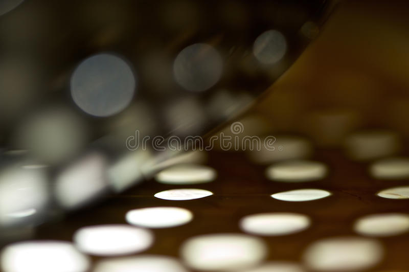 Abstract Curves and Light Circles royalty free stock photo