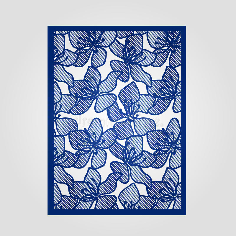 Abstract cutout panel for laser cutting die cutting or stencil download abstract cutout panel for laser cutting die cutting or stencil stock vector stopboris Choice Image