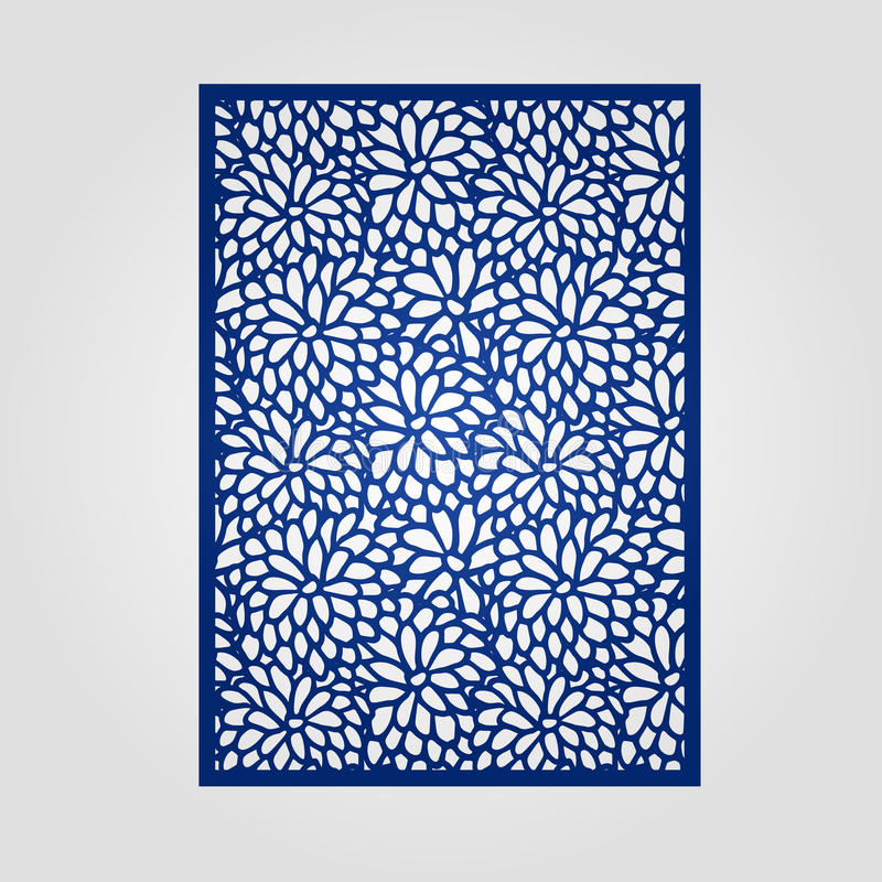 Abstract cutout panel for laser cutting die cutting or stencil download abstract cutout panel for laser cutting die cutting or stencil stock vector stopboris Images