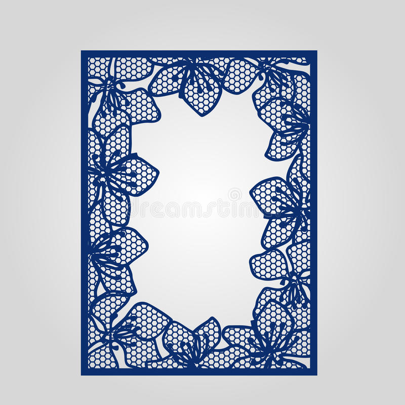 Abstract cutout panel for laser cutting die cutting or stencil download abstract cutout panel for laser cutting die cutting or stencil stock illustration stopboris Images