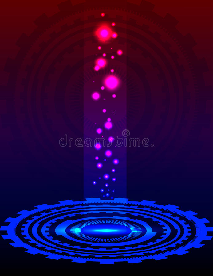 Abstract cycle royalty free stock photo