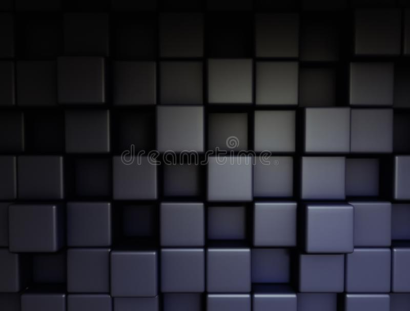 Abstract 3d cubes technology background royalty free stock images