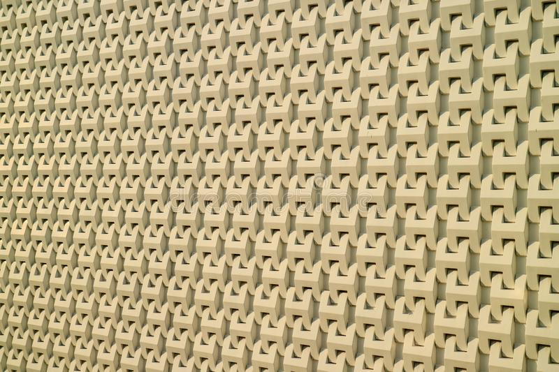 Abstract 3D decorative modern pattern of the wall stock photos