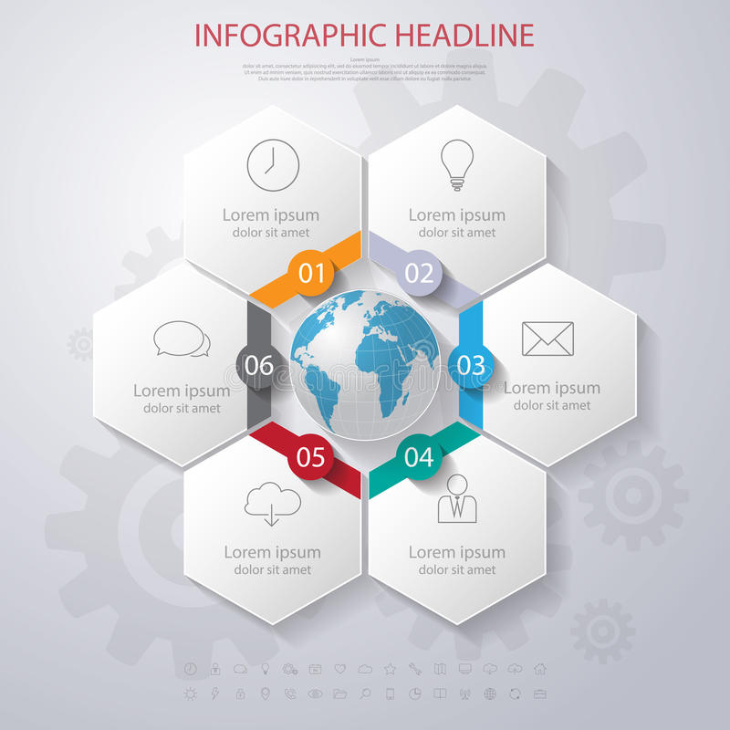 Abstract 3d digital illustration infographic with world mapn download abstract 3d digital illustration infographic with world mapn stock vector illustration of gumiabroncs Images