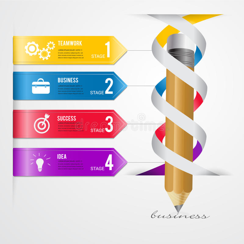 Abstract 3D Modern template vector banner infographics.Business vector illustration