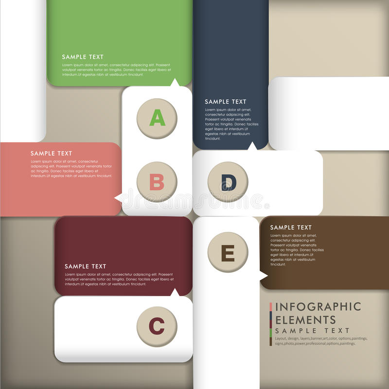 Download Abstract 3d Paper Infographics Stock Vector - Image: 35612186