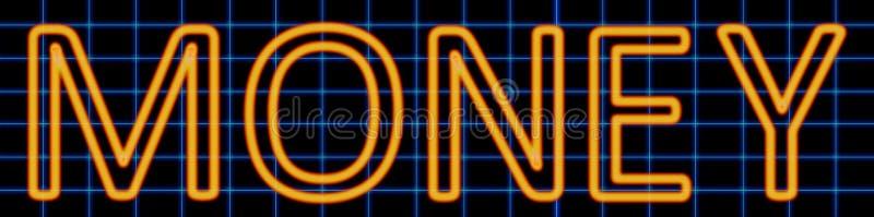 Cash neon sign vector illustration