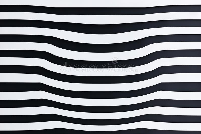 Abstract 3D striped background royalty free stock photo
