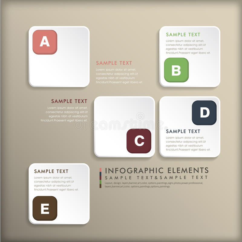 Download Abstract 3d Tag Infographics Stock Vector - Image: 35612196