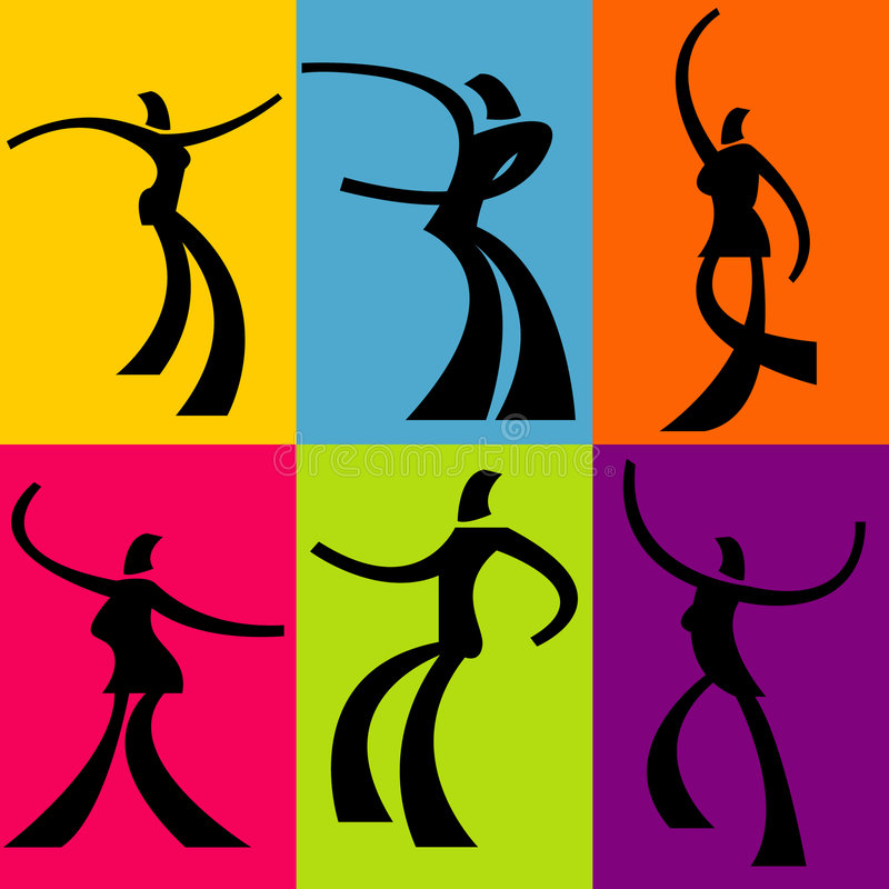 Free Abstract Dancer Backgrounds Royalty Free Stock Photo - 5895215