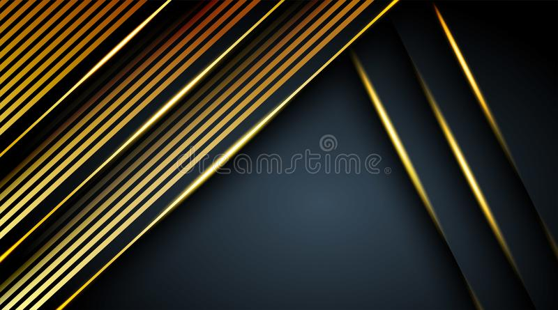 Abstract dark and black background overlap color vector illustration eps 10. For the company royalty free illustration