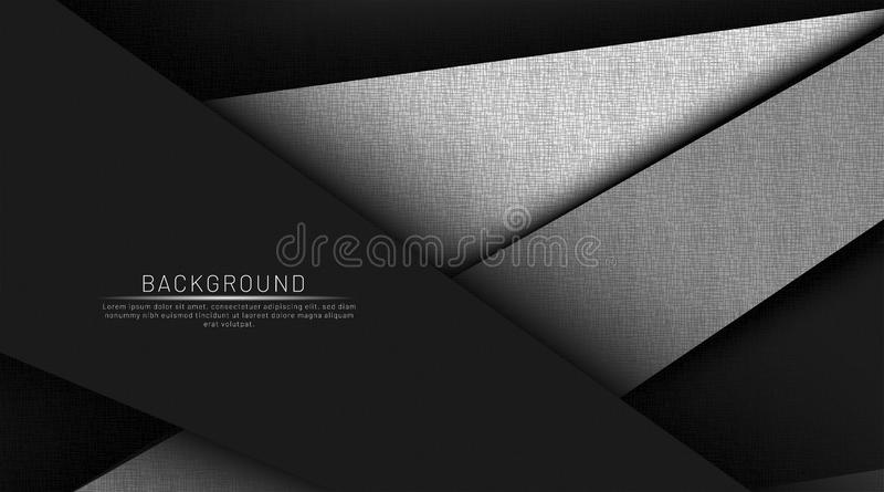 Abstract dark and black background overlap color vector illustration eps 10. For the company vector illustration