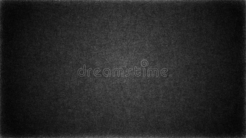 Abstract dark black grunge wall with scratches and cracks on surface. For texture or pattern background stock illustration