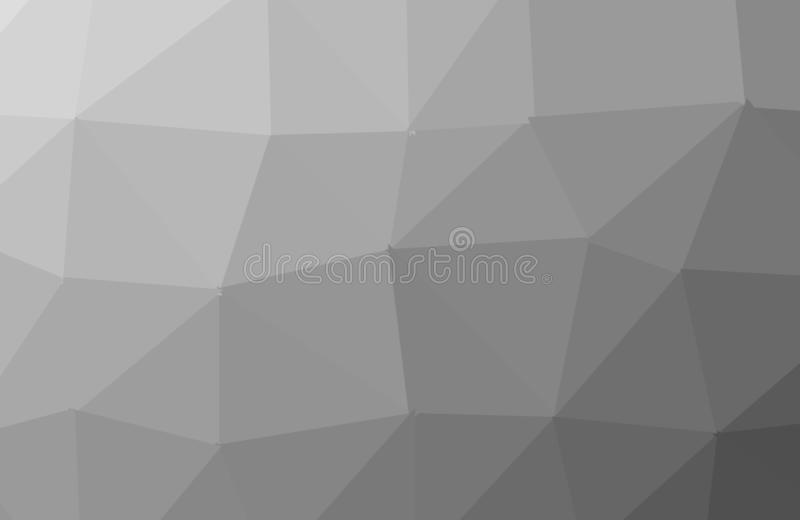 Abstract Dark Black polygon geometric background. Low Poly Style, Business Design Templates. Vector and illustration stock illustration