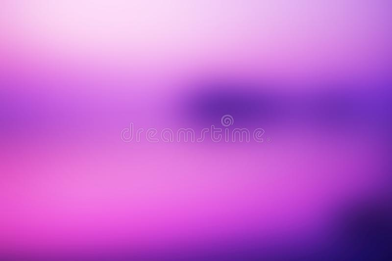 Abstract dark blue, purple blurred background, smooth gradient t stock image