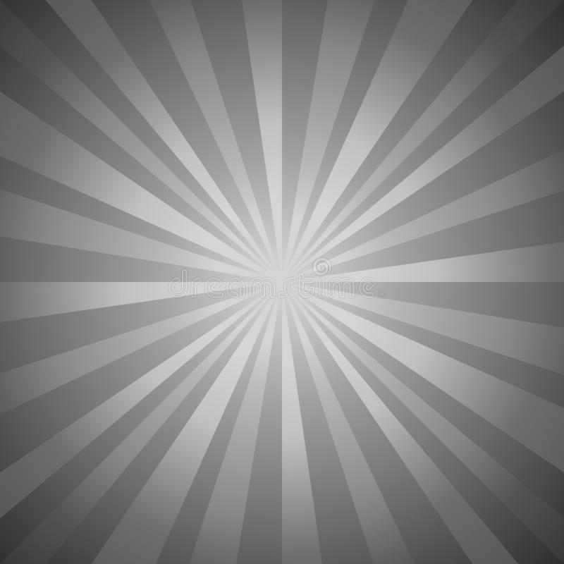 Abstract dark gray rays background. Vector EPS 10 cmyk stock illustration