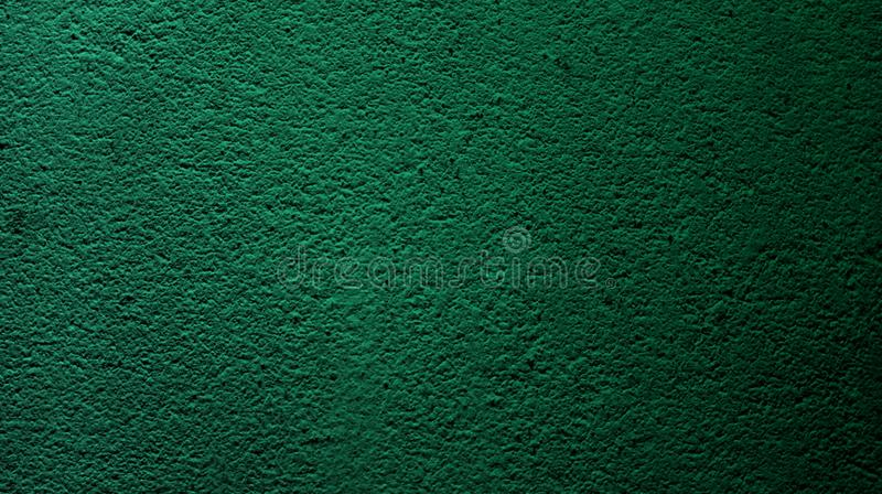 Abstract dark green color with wall rough dry texture background. stock image