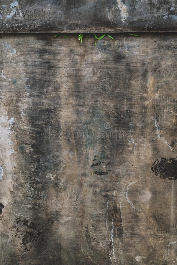 Abstract dark grunge texture with scratch marks royalty free stock image