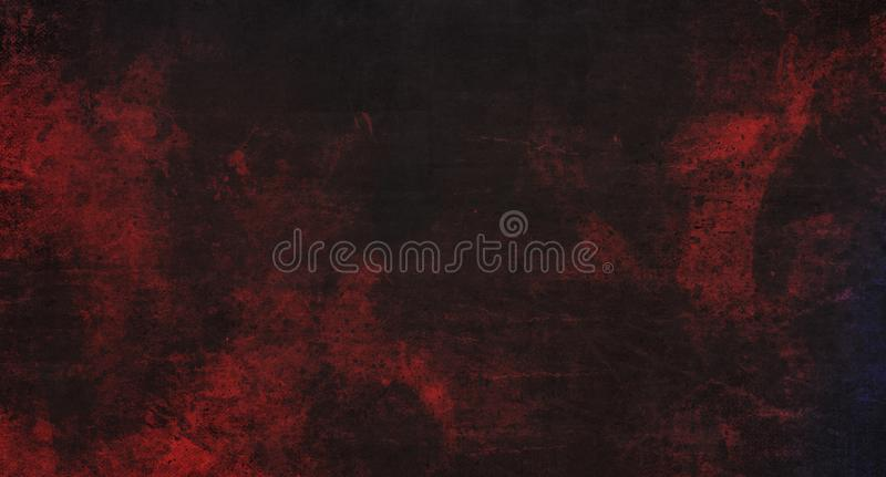 Abstract dark red grunge background royalty free illustration