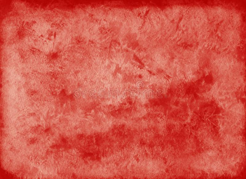 Abstract dark red watercolor background vector illustration