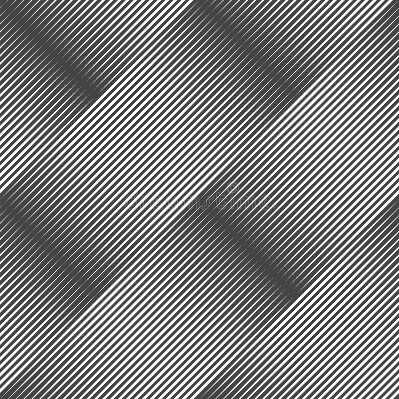 Abstract diagonal striped texture. Vector seamless pattern. royalty free illustration