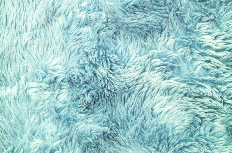 Abstract de stoffenpatroon van de close-upoppervlakte bij het lichtblauwe stoffentapijt bij de vloer van de achtergrond van de hu royalty-vrije stock fotografie