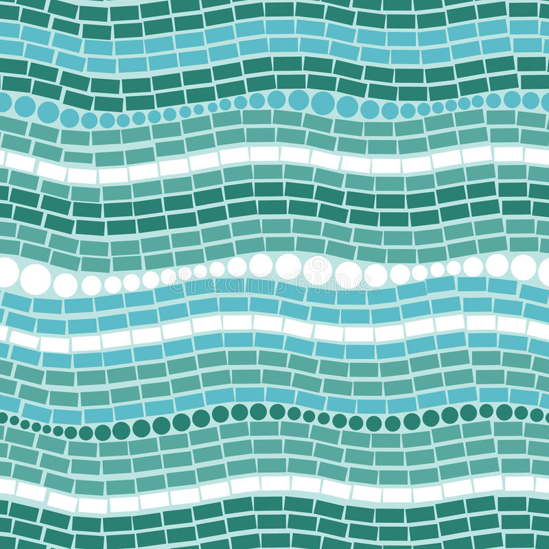 Abstract de textuur naadloos patroon van ijschrystals stock illustratie