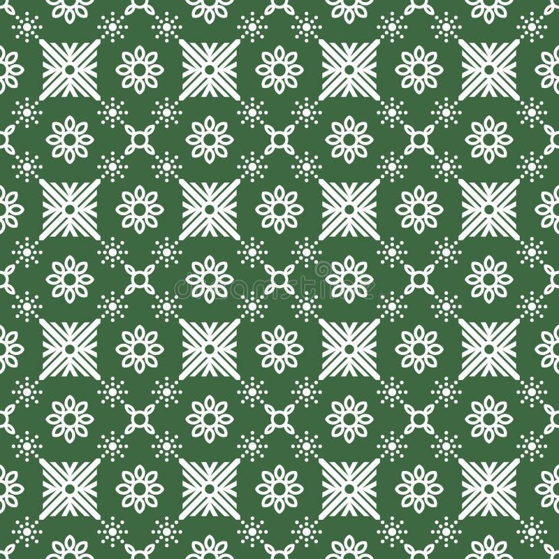 Abstract decoratief naadloos batikpatroon stock fotografie