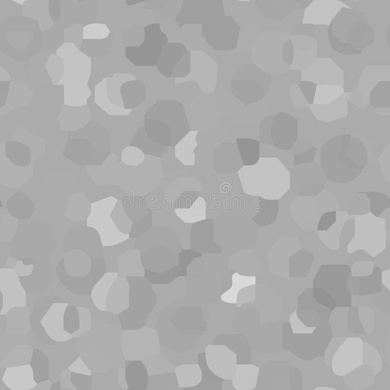Abstract decoratief vectorpatroon als achtergrond met geometrische vormen stock illustratie