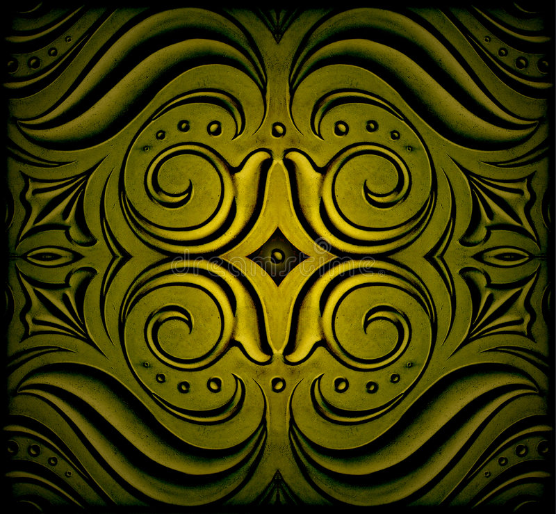 Abstract decoration stock photo