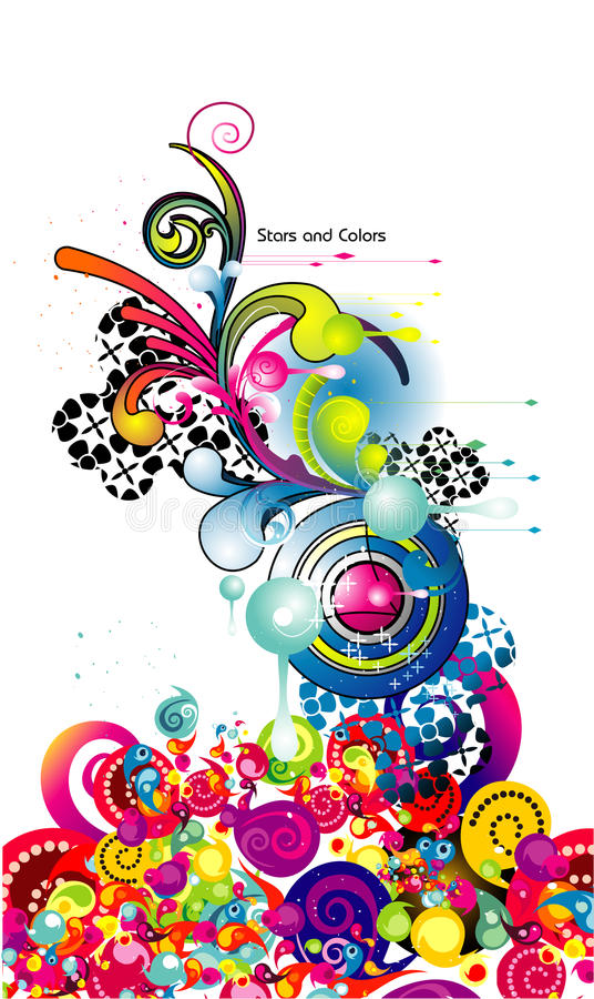 Free Abstract Decoration Vector Royalty Free Stock Photos - 14143178
