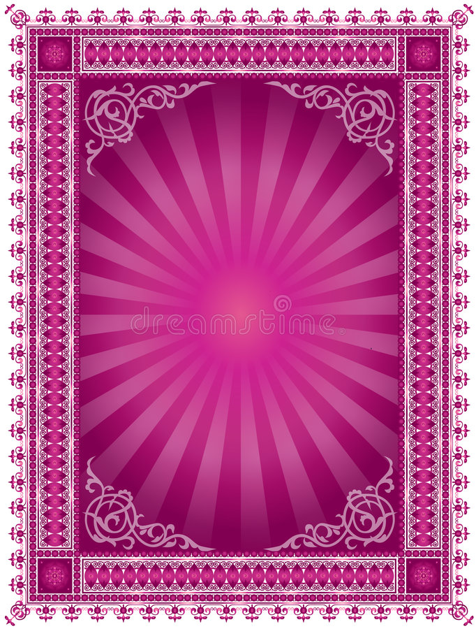 Abstract Decorative Frame royalty free illustration
