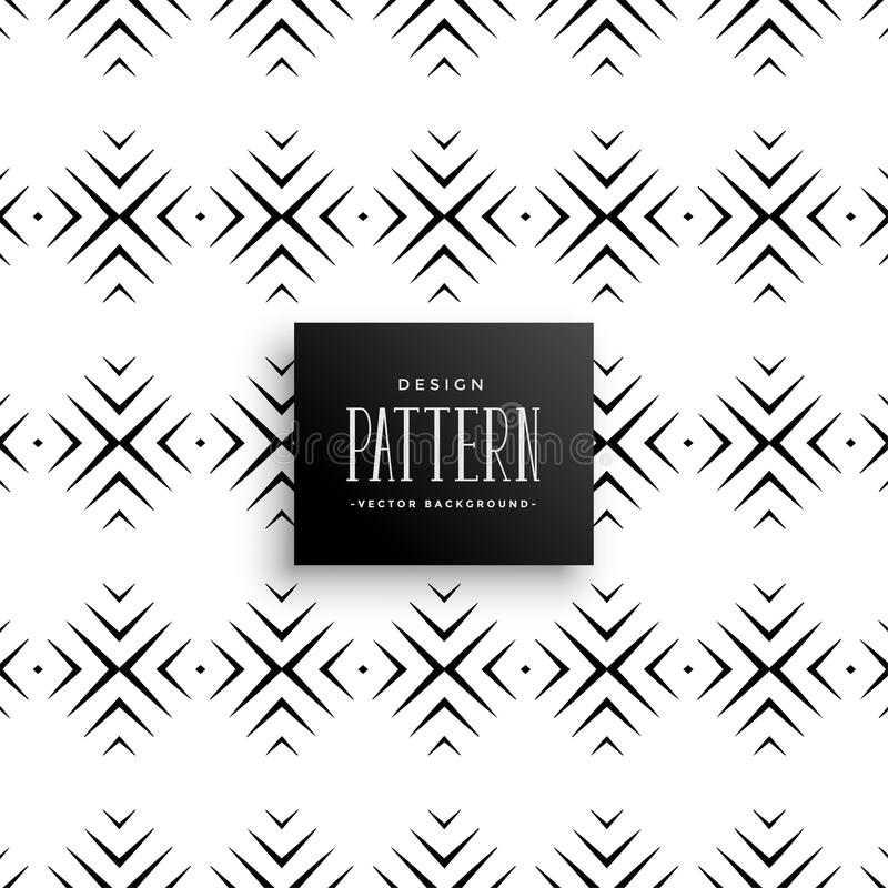 Abstract decorative lines pattern background royalty free illustration