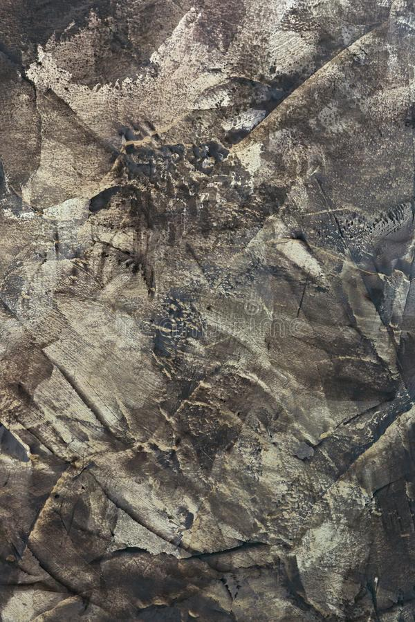 Abstract decorative plaster for the wall.  royalty free stock photos