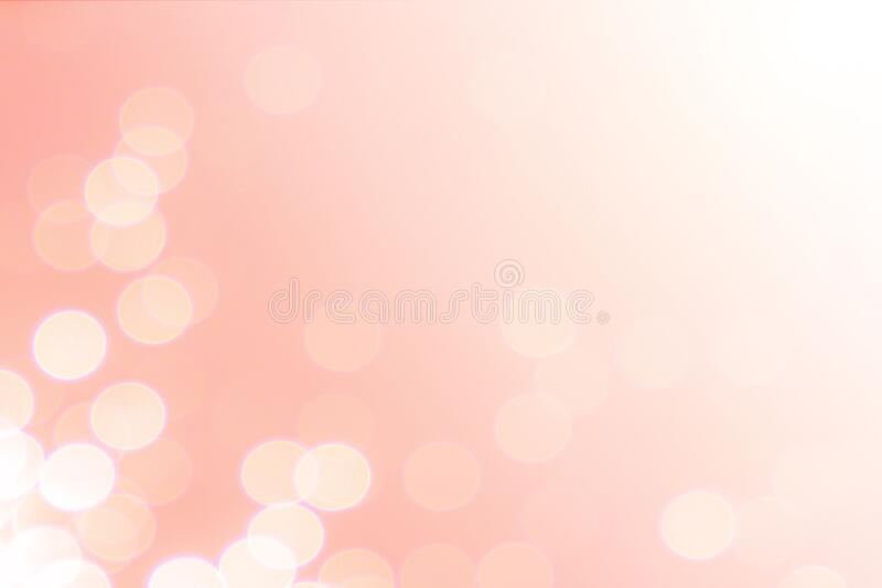 Abstract defocused lights bokeh as pink background,beautiful pink bokeh for backdrop stock photo