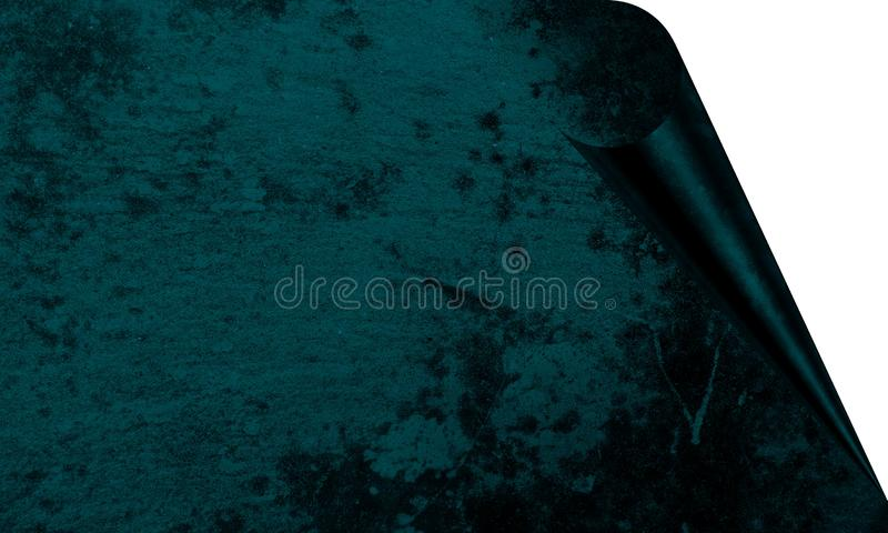 Abstract  Desert Blue Color With Wall Texture Background Page Curl Effects Background Wallpaper. vector illustration