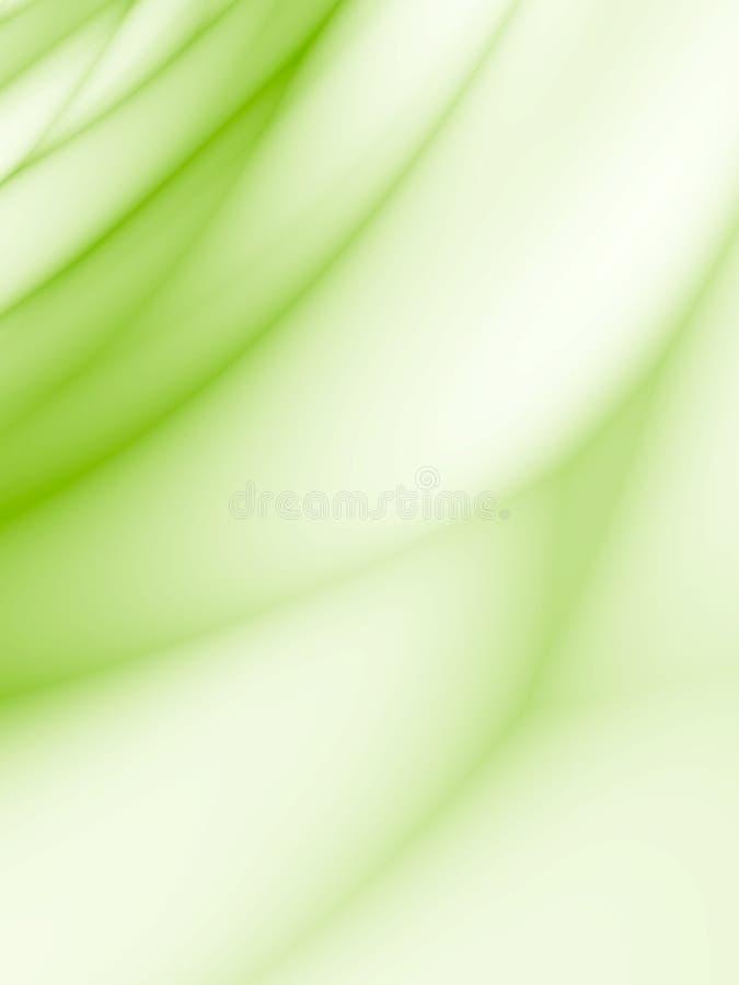 Abstract design. Light green background stock illustration