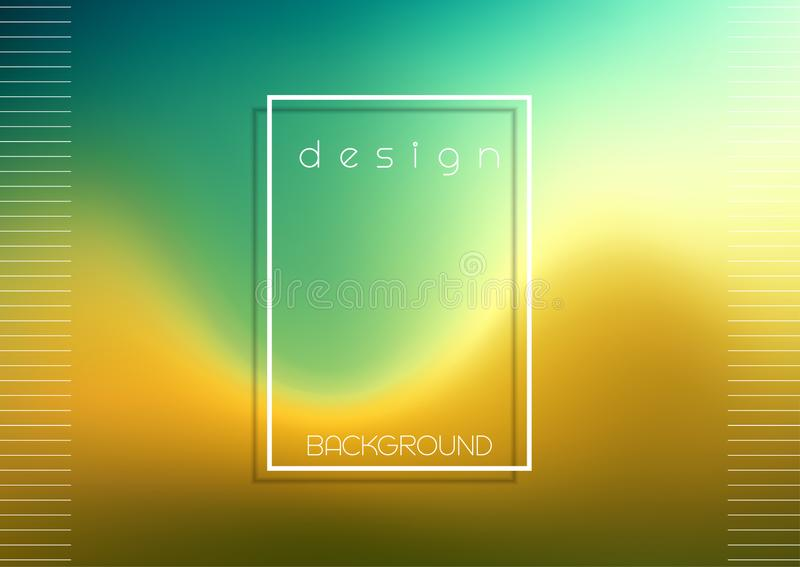 Abstract design background with gradient texture stock illustration