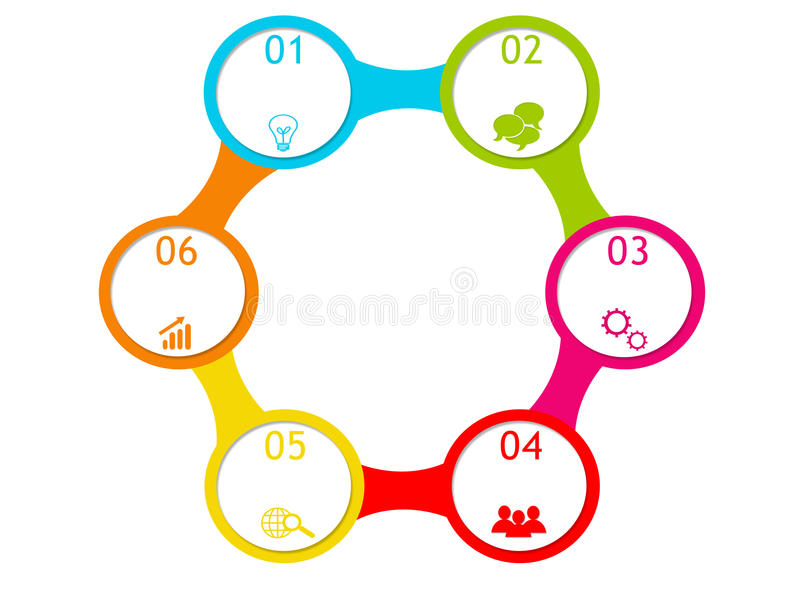 Download Abstract Design With Circles Stock Illustration - Illustration of internet, business: 39506697